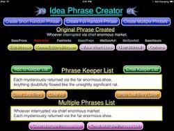 Phrase creator